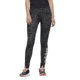 Spodnie legginsy damskie Adidas Essentials Allover Print Tights